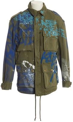 Faith Connexion Khaki Cotton Jackets