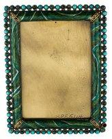 Jay Strongwater Embellished Enamel Frame