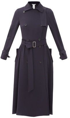 Max Mara Piombo Trench Coat - Navy