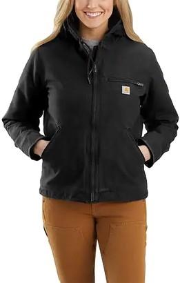 Carhartt Washed Duck Sherpa-Lined Jacket - Women's