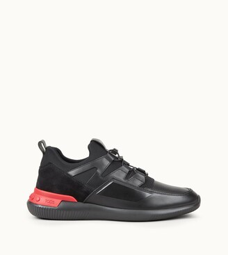 Tod's No_Code 03 in Leather and Scuba Effect Fabric