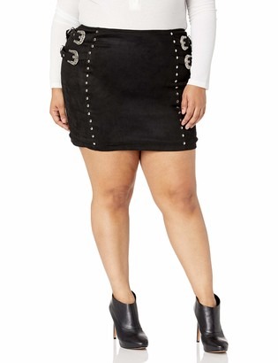Forever 21 Women's Plus Size Western-Inspired Skirt