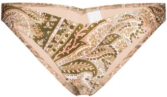 Zimmermann Multi-Print Bikini Bottoms