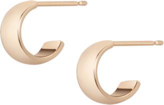 AUrate New York Wide Huggie Earrings