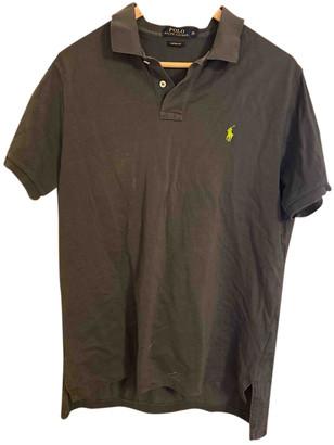 Polo Ralph Lauren Grey Cotton Polo shirts