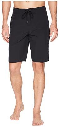 RVCA Eastern 20 Trunk (All Black) Men's Swimwear