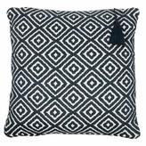 Lulu Ondine Ash Grey Diamond Cushion