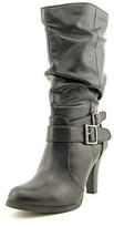 Style&Co. Style & Co Mickay Women Round Toe Synthetic Black Mid Calf Boot.