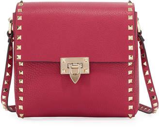Valentino Garavani Rockstud Vitello Leather Shoulder Bag