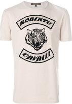 Roberto Cavalli tiger print T-shirt - men - Cotton - XS