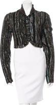Missoni Knit Cropped Jacket