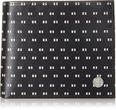 Fred Perry Men's Tipped Print Billfold and Coin Wallet