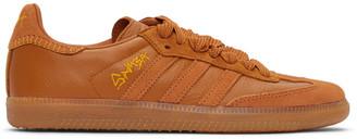 adidas Brown Jonah Hill Edition Samba Sneakers