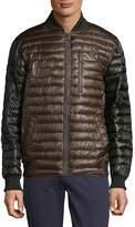 Rainforest Men's Zip Bomber Jacket - Brown, Size xx-large