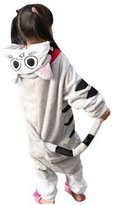 CLOHO Unisex Pajamas Kigurumi Cosplay Costume for Xmas Christmas Gift Stitch
