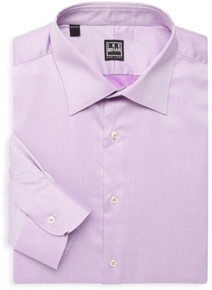 Ike Behar William Cotton Dress Shirt