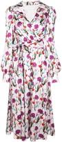 Borgo de Nor Nilla floral-print dress