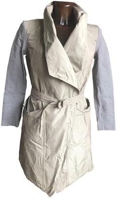 Brunello Cucinelli Ecru Silk Trench Coat for Women
