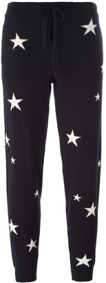 Chinti and Parker Star Intarsia Track Pants