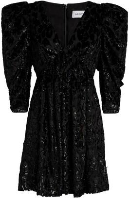 16Arlington Devore Kaffir Mini Dress