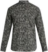 Saint Laurent Paisley-print cotton shirt
