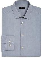 Theory Mini Gingham Check Slim Fit Dress Shirt
