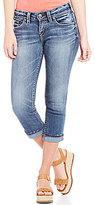 Silver Jeans Co. Suki Rolled Cuff Capri Jeans