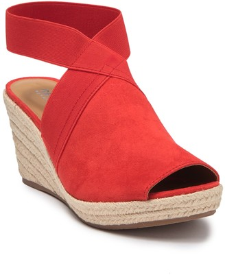 Kenneth Cole Cara Espadrille Wedge Sandal
