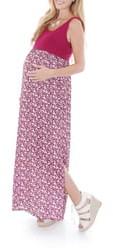 Everly Grey 'Maisie' Maternity Maxi Dress