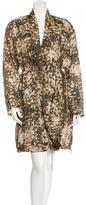 Stella McCartney Printed Silk Dress
