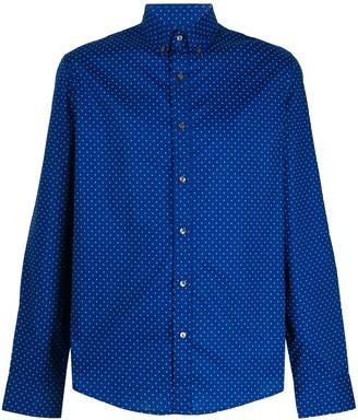 Michael Kors Mini Polka-Dot Print Shirt
