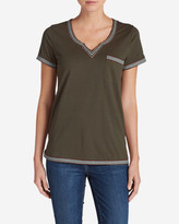 Eddie Bauer Women's Daybreak Embroidered Short-Sleeve T-Shirt