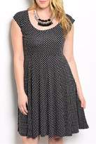 Torrid Black Polkadot Plus