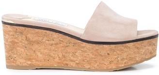 Jimmy Choo Deedee 80mm sandal wedges