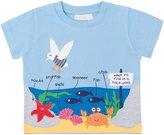 Jo-Jo JoJo Maman Bebe Rock Pool T Shirt (Baby) - Blue-18-24 Months