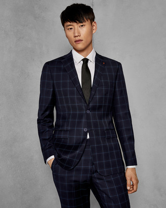 Ted Baker PROTEXJ Endurance Performance check suit jacket