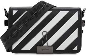 Off-White Off White Mini Diag Printed Leather Shoulder Bag