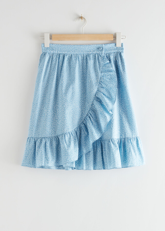 Thumbnail for your product : And other stories Wrap Mini Skirt