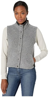 Toad&Co Telluride Sherpa Vest (Natural) Women's Clothing