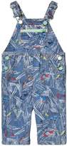 Stella McCartney Blue Scribble and Skates Print Buzzby Dungarees