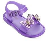 Mini Melissa Girls' Butterfly Sandals - Walker, Toddler