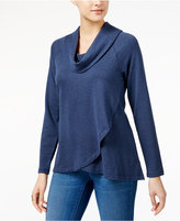 Style&Co. Style & Co Cowl-Neck High-Low Tunic, Created for Macy's