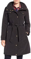 Ellen Tracy Water Repellent Hooded Jacket (Petite)