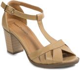Pierre Dumas Natural T-Strap Carina Sandal