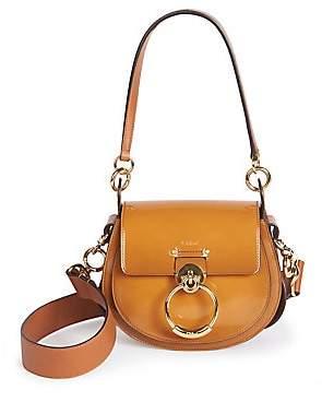 Chloé Women's Small Tess Patent Leather Saddle Bag