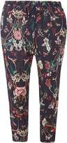 Petite Navy Floral Joggers