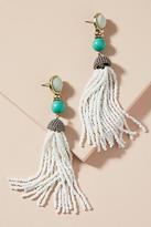Anthropologie Artemis Tassel Drop Earrings