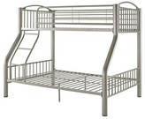 Powell Company Bunk Bed Pewter (Twin over Full)