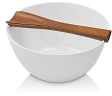 Nambe Quatro Salad Bowl & Server Set