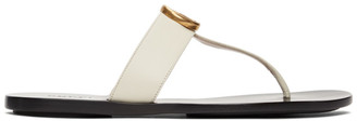 Gucci Off-White GG Marmont Sandals